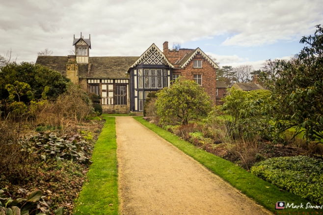 Rear View, Rufford Old Hall, Ormskirk, Lancashire, England