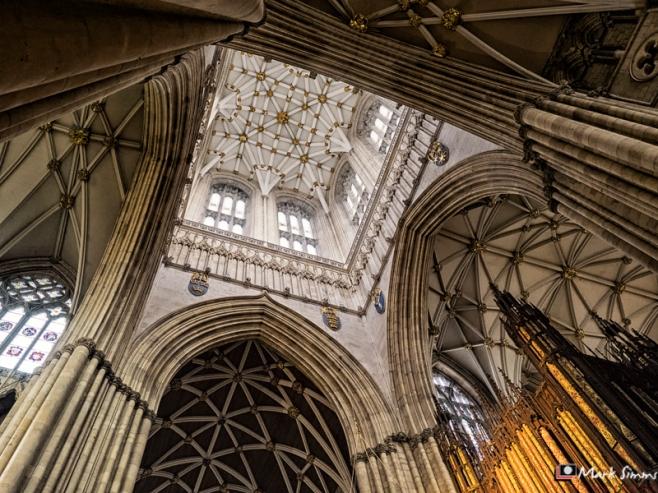 Arches & Columns, Minster, York, Yorkshire, England