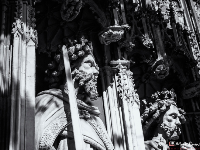 Choir Screen Detail, Minster, York, Yorkshire, England