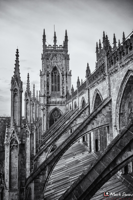 Flying Buttresses, Minster, York, Yorkshire, England