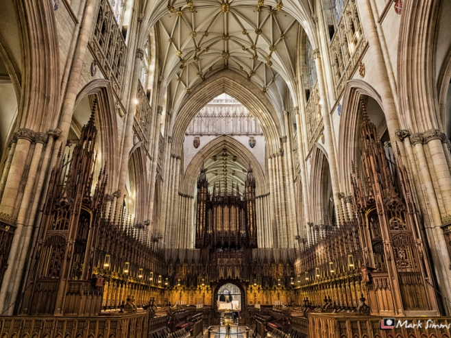 The Choir, Minster, York, Yorkshire, England