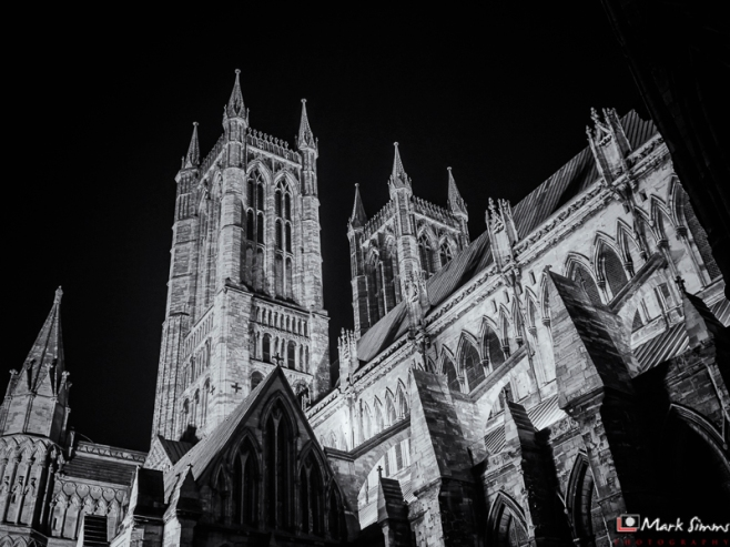 Cathedral Exterior, Lincoln, Lincolnshire, England