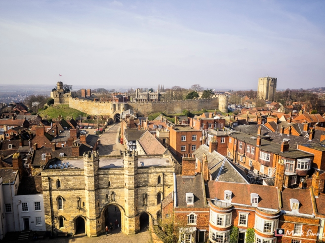 Cathedral Views, Lincoln, Lincolnshire, England
