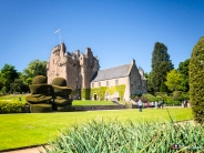 Crathes Castle, Banchory, Aberdeenshire, Scotland