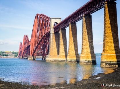 Forth Rail Bridge, South Queensferry, West Lothian, Scotland