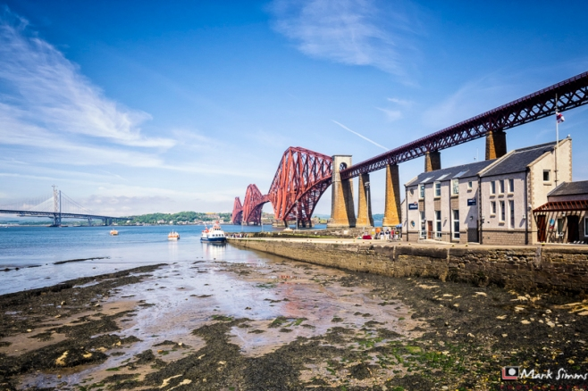 Forth Rail Bridge, South Queensferry, West Lothian, Scotland
