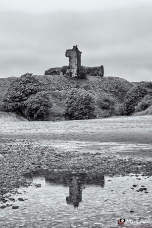 Lunan Bay, Montrose, Angus, Scotland