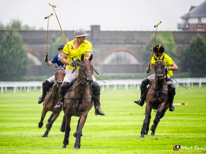 Polo, Chester Races, Chester, Cheshire, England
