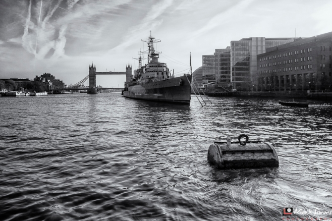 HMS Belfast, London, England, UK