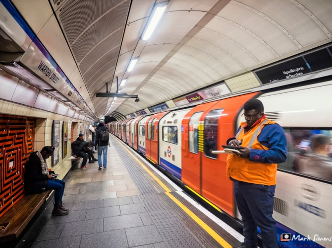 Underground, London, England, UK