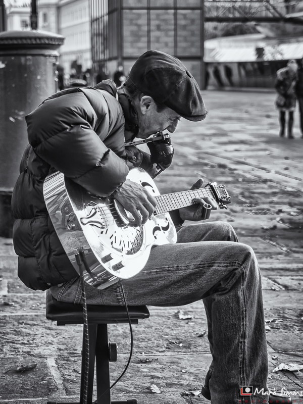 The Busker, Greenwich, London, England, UK