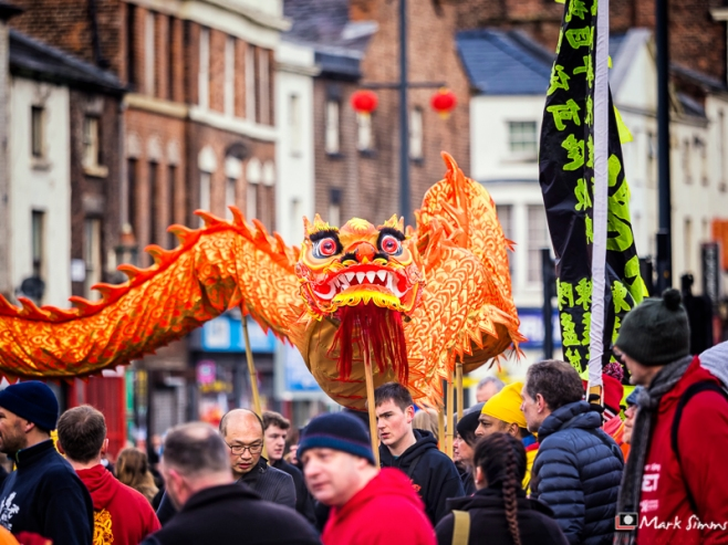 Chinese New Year, China Town, Liverpool, Merseyside, England, UK