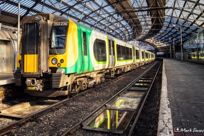 Lime Street Station, Liverpool, Merseyside, England