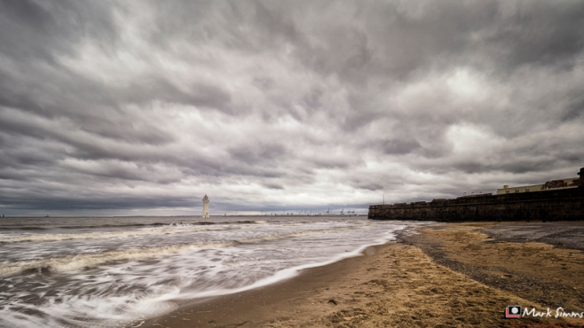 Perch Rock Lighthouse, New Brighton, Wirral, England