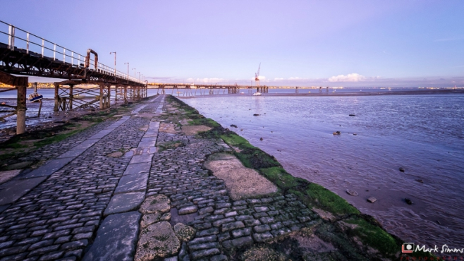 Old Jetty, Rock Ferry, Wirral, England