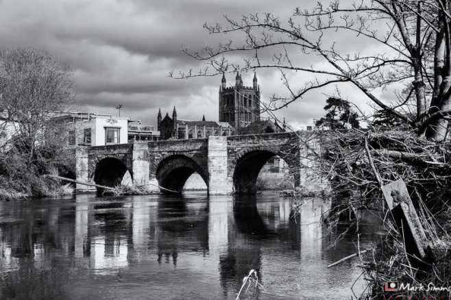 River Wye, Hereford, Herefordshire, England