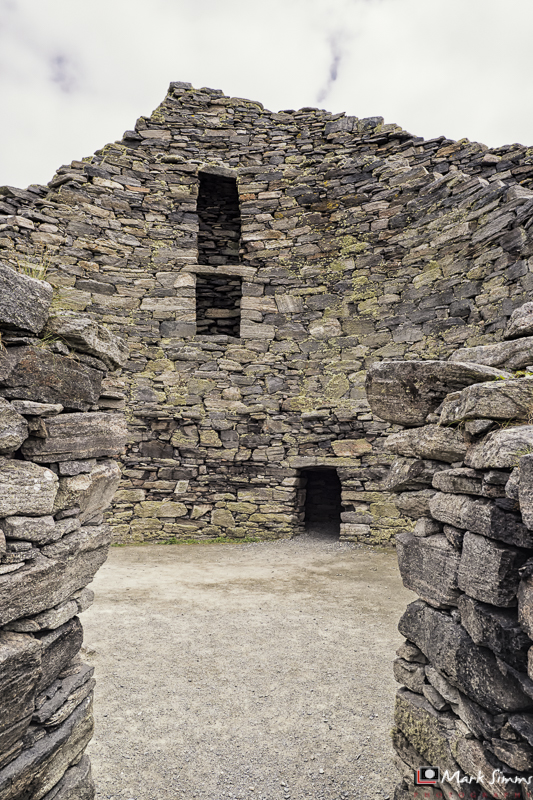 Dun Carloway Broch, Isle of Lewis, Outer Hebrides, Scotland