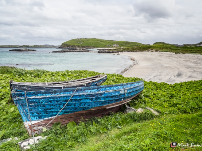 Blue Boats, Isle of Lewis, Outer Hebrides, Scotland