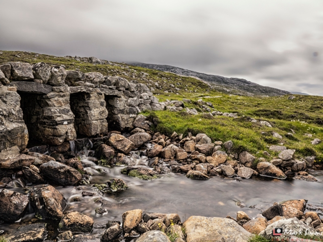 Waterfall, Isle of Lewis, Outer Hebrides, Scotland