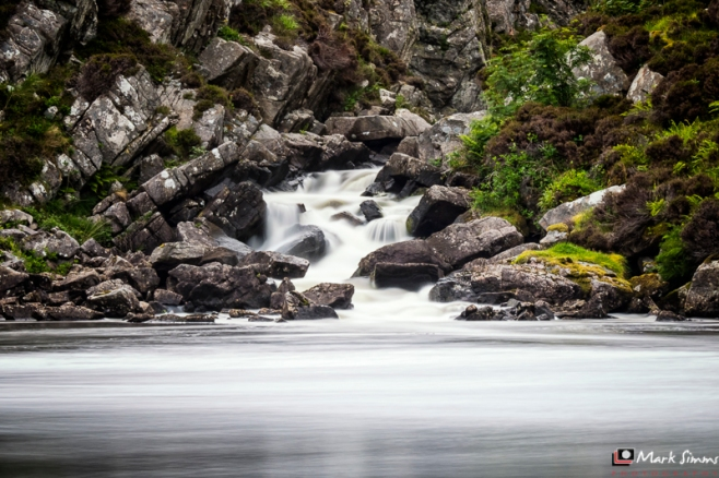 Uig Falls, Isle of Lewis, Outer Hebrides, Scotland