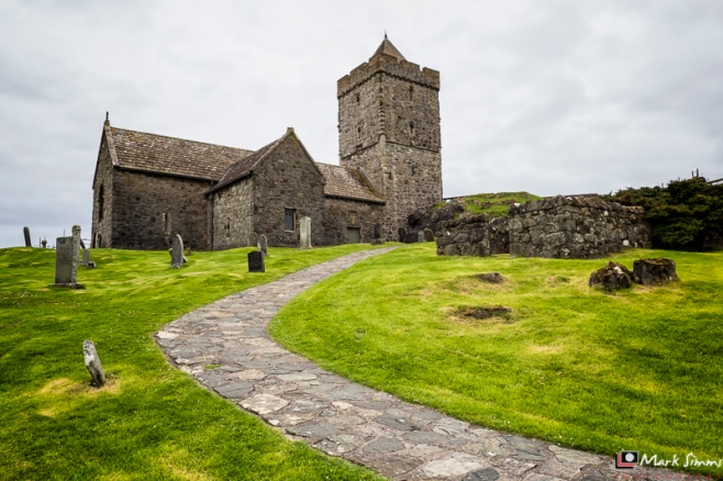 Rodel Church, Isle of Harris, Outer Hebrides, Scotland