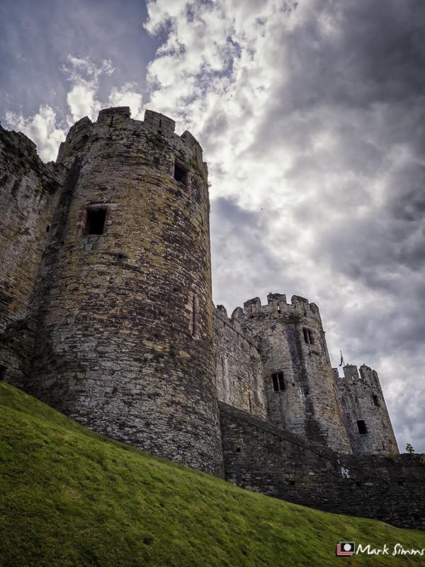 Conwy Castle, Gwynedd, North Wales