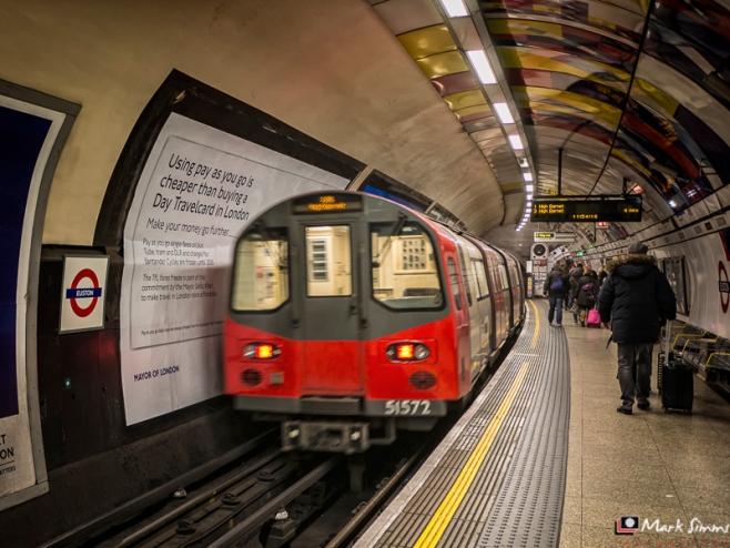 Euston Underground, London, England, UK