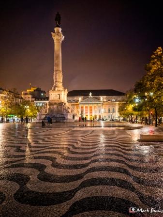 Rossio, Lisbon, Portugal, Europe