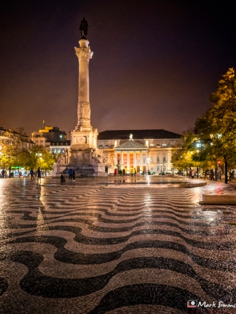 Rossio, Lisbon, Portugal, Europe
