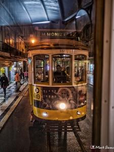 Trams, Lisbon, Portugal, Europe