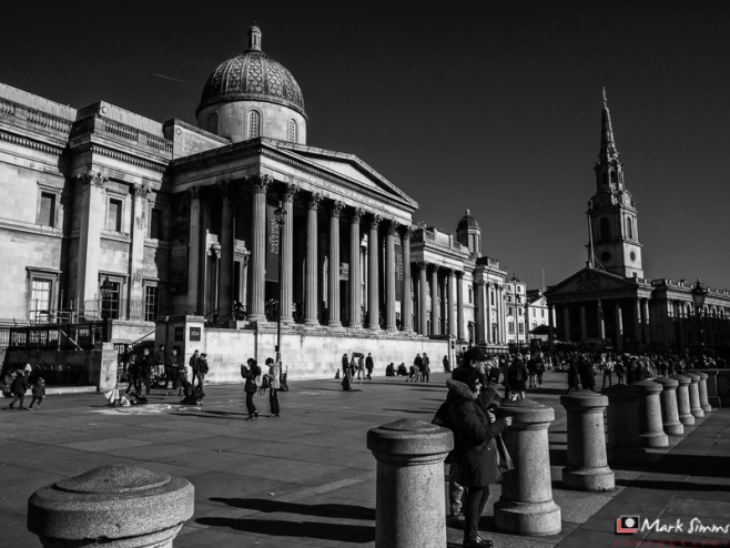 Trafalgar Square, London, England, UK