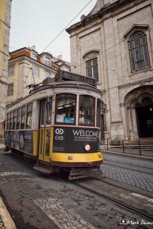 Trams, Lisbon, Portugal, Europe
