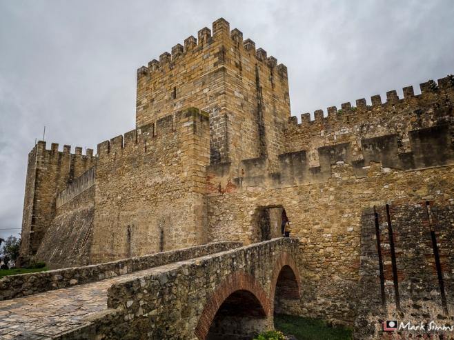 Castelo De Sao Jorge, Lisbon, Portugal, Europe