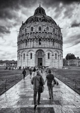 Baptistry at Pisa