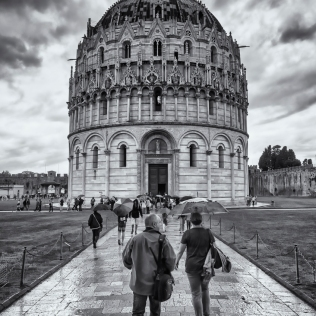 Baptistry at Pisa