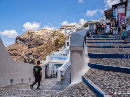 Fira, Santorini, Greece, Europe