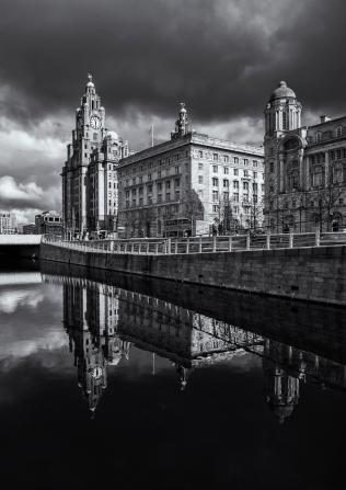 Liverpool Waterfront Reflected