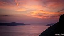 Sunset, Santorini, Greece, Europe