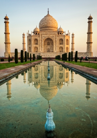 Taj Mahal Reflected