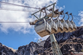 Cable Car, Fira, Santorini, Greece, Europe