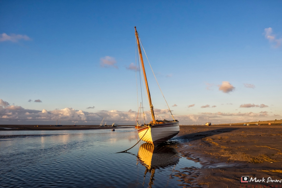 Sailboat, Hoylake, Wirral, England