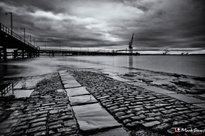 Pier, Rock Ferry, Wirral, England