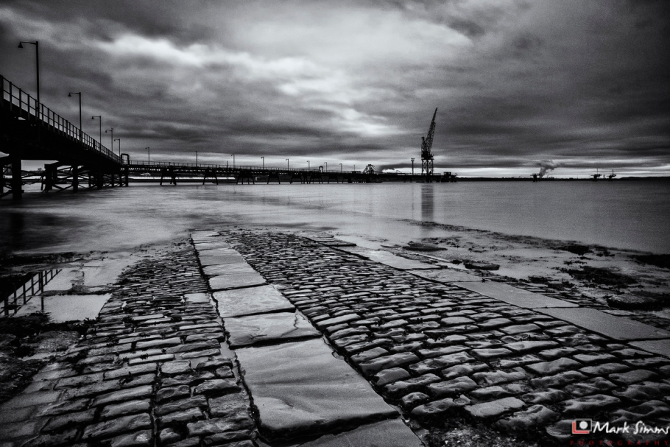 Pier, Rock Ferry, Wirral, England