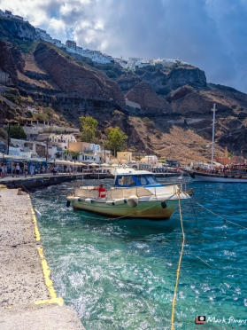 Skala, Fira, Santorini, Greece, Europe