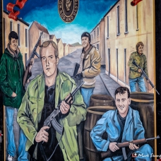 Murals, Belfast, Northern Ireland, UK