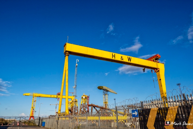 Harland abd Wolff, Belfast, Northern Ireland, UK