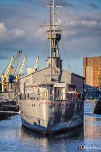 HMS Caroline, Belfast, Northern Ireland, UK