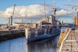 HMS Caroline, Belfast, Northern Ireland, UK