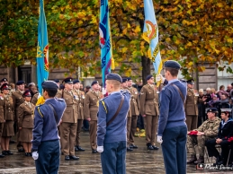 Remembrance Sunday 2018, Hamilton Square, Birkenhead, Wirral, UK