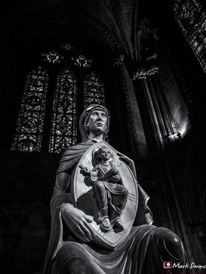 Mary & Jesus, Lincoln Cathedral, Lincoln, England